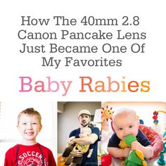 This Lens Changes Everything- Canon 40mm Pancake Lens- It's less than $200!