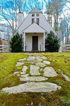 All Saints Episcopal Chapel. Stony Point, Virginia. Route 20 outside Charlottesville. Calm Cradle Photo & Design