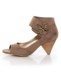 These shoes from GoMax are also pretty adorable. $45 at Lulus.com