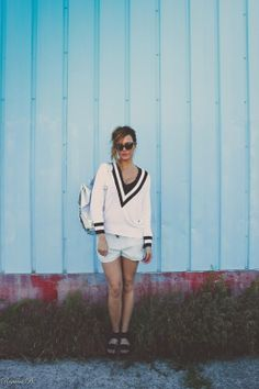 Alexis from Alternative Indigo in the Boys Club Sweater    Get the sweater: http://www.nastygal.com/product/borrowed-from-the-boys-sweater-vest?utm_source=pinterest&utm_medium=smm&utm_term=ngdib&utm_content=nasty_gals_do_it_better&utm_campaign=pinterest_nastygal
