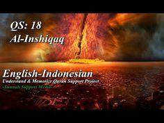 Surah Al-Inshiqaq | English-Indonesia | Understand & Memorize Quran Supp...