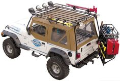 Garvin Industries Wilderness Expedition Rack for 97-06 Jeep® Wrangler TJ -$838.99