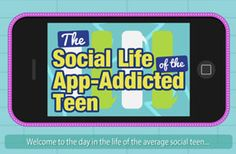 The Social Life of the Teen Apps (Infographic)