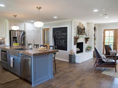 Chip and Joanna Gaines help a California couple, looking to settle in Waco, create a distinctive home with lots of space, light and a creative cottage vibe.