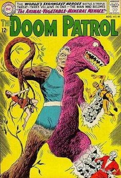 Doom Patrol #89 - The Animal-Vegetable-Mineral Menace! (Issue)