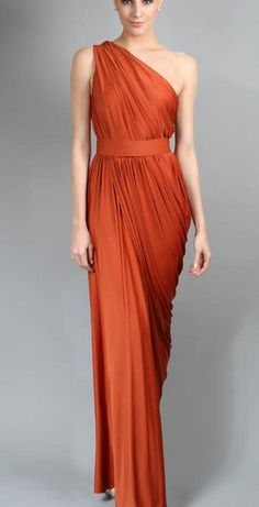 Gorgeous one shoulder style