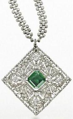 Cartier necklace ca. 1907 via Christie's by mavis