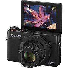 Canon - PowerShot G7 X 20.2-Megapixel Digital Camera - Black - Alternate View 2