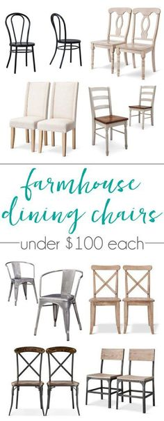 Ideas Farmhouse Dining Chairs Diy Woods For 2019 Kitchen Table Chairs, Dining Room Chairs, Dining Rooms, Arm Chairs, Office Chairs, Lounge Chairs, Dining Area, Farmhouse Kitchen Tables, Coastal Living Rooms