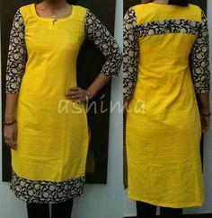 best Ideas for fashion dresses hijab polka dots Salwar Pattern, Kurti Patterns, Dress Patterns, Kurti Neck Designs, Salwar Designs, Blouse Designs, African Fashion, Indian Fashion, Chudidhar Designs