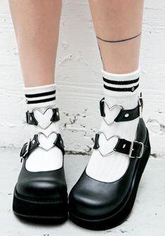 Demonia Evil Crybaby Mary Janes cuz yer tears can get ya anything you want…