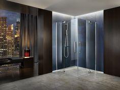 PALME® Dusche aus Glas für dezente Eleganz im Bad. Divider, Room, Furniture, Home Decor, Showers, Bath Room, Bathing, Glass, Bedroom