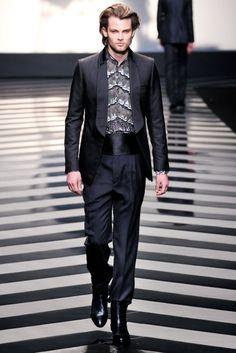 """ROBERTO CAVALLI PRESENTATION"" Autumn/Winter 2013-2014 Milan Menswear by FashionChannel    #robertocavalli #menswear #milan #fashion"
