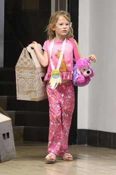 This is what Violet Affleck wore to her birthday party.  Brave.  -Suri  @Mandy Entwistle, I love this site so much sometimes!