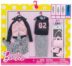 Amazon.com: Barbie Fashions Athlesure, 2 Pack - Tall: Toys & Games
