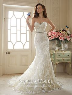 Sophia Tolli Couture - Kenley - Y11649 - All Dressed Up, Bridal Gown