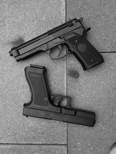 Glock and Beretta Concealed Carry Weapons, Best Concealed Carry, Kimber Pro Carry Ii, Best Handguns, Custom Glock, M&p Shield, Military Guns, Top Gun, Cool Guns