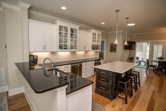 The Sandpiper. Kitchen. The Cottages at Southport, NC.