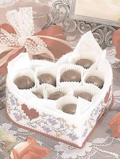 Floral Hearts Candy Dish