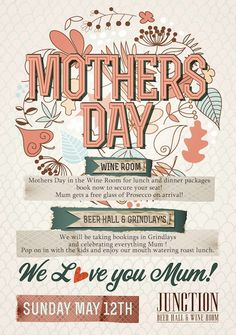 mothers day poster - Google Search Mothers Day Poster, Day Book, Prosecco, Whisky, Festive, Bakery, Design Inspiration, Posters, Japan