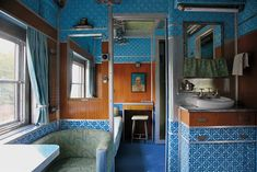 """The Interiors of Wes Anderson. """"Design Bible Apartamento Roams Through the World of the Hollywood Auteur. """"You could compare Wes Anderson to an interior decorator,"""" says Apartamento's Editor-in-Chief Marco Velardi."""""""