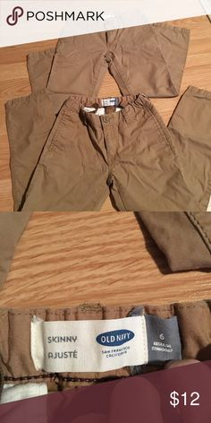 Old Navy pants 2 pairs of Skinny, adjustable waist pants Bottoms Casual