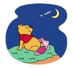 Pooh and Friends by The Walt Disney Company (Japan) Ltd. Winnie The Pooh Quotes, Winnie The Pooh Friends, Walt Disney Company, Pooh Bear, Eeyore, Line Sticker, Cellphone Wallpaper, Wallpaper Quotes, Smurfs