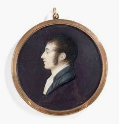 "Charles-Guillaume-Alexandre Bourgeois (1759-1832) : ""Portrait de jeune homme en buste de profil vers la gauche"". Round miniature on ivory, signed under the bust : C. BOURGEOIS, year 7. Diam .: 6 cm Bibliography: Reference is SCHILOF, T.1 about the artist and Lemoine-Bouchard, p. 118-119 for miniatures from the late 18th century. This certainly is one of the most beautiful portraits he painted."