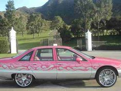 Nice! Caprice Classic, Candy Paint, Custom Candy, Pink Candy, Missouri, Kansas City, Hot Rods, Chevy, Have Fun