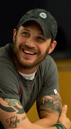 It actually bothers me that this man is SO DAMN ATTRACTIVE! Tom Hardy