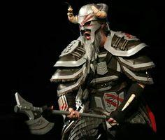 Epic Elder Scrolls Online Nord from the cinematic trailer!