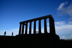 Calton Hill in Edinburgh, Scotland. Old Town Edinburgh, Edinburgh Castle, Edinburgh Scotland, Scott Monument, Holyrood Palace, Church Of Scotland, Instagram Queen, Famous Landmarks, Place Of Worship