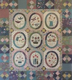 Miss Rosie's Garden Small Quilts, Mini Quilts, Hatch Patch, Lynette Anderson, Annie Downs, Wool Applique Quilts, Fabric Crafts, Diy Crafts, Christmas Wall Hangings