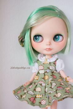 http://elblogdelupi.com/laboutiquedelupi/custom-doll-o-o-a-k-lady-portia-porcupine  #blythe #dolls