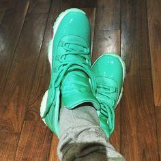 「Chris Paul's Air Jordan 11 PE is just insane.  More details on SneakerNews.com」