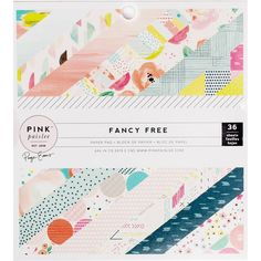 Pink Paislee Fancy Free 6 X 6 Inch Paper 36 Pack | Hobbycraft