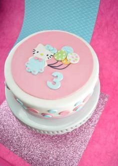 Edible Hello Kitty Fondant Cake Topper/ Cake Topper for  Hello Kitty Birthday Party
