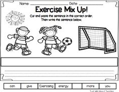 Just Wild About Teaching: All About Exercise - Health Pack