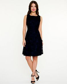 Lace Fit & Flare Dress - This lace fit and flare number is a lesson in timeless femininity. Fit Flare Dress, Fit And Flare, Bridesmaid Dresses, Wedding Dresses, Party Gowns, Feminine, Fashion Statements, Closet Space, Formal Dresses