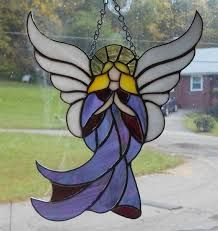 Image result for stained glass angel
