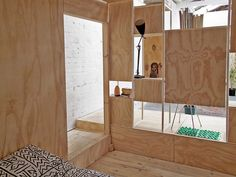 Furniture Design: Cool wooden sleeping pods from Aussie designers SIBLING