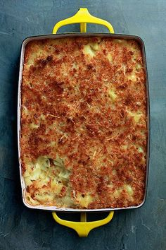 Macaroni and Cheese with Fontina and Gruyere