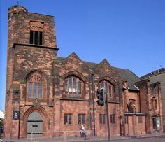 Queen's Cross Church, Glasgow, Scotland Charles Rennie Mackintosh, Glasgow Scotland, Cathedrals, Temples, Impressionist, United Kingdom, Celtic, Art Nouveau, Irish