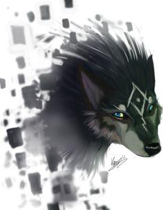 Legend Of Zelda - Twilight Princess - Wolf Link