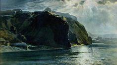 ? Barbizon School, National Theatre, Landscape Paintings, Landscapes, Moonlight, Sunrise, Waves, Fine Art, Google