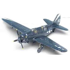 "Aircraft Aero Military Model 1/72 SB2C-4 ""Helldiver"" U.S Air Force #12406"