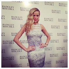 #beachwaved to #perfection @pnemcova looked #incredible at the #badgleymischka show