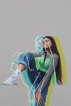 5 Easy Photo Outline Editing Techniques | Create with PicsArt - Online Photo Editing - Online photo edit platform. #online #canva #photoedit - Creative Portrait Photography, World Photography, Creative Portraits, Photography Editing, Creative Photos, Photo Editing, Outline Photography, Photography Training, Black Photography