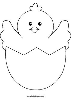 Easter Chick Coloring Pages easter chick Coloring Pages Fun