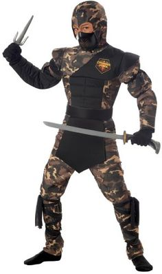 Special Ops Ninja Child Costume-Small *** You can get more details by clicking on the image.